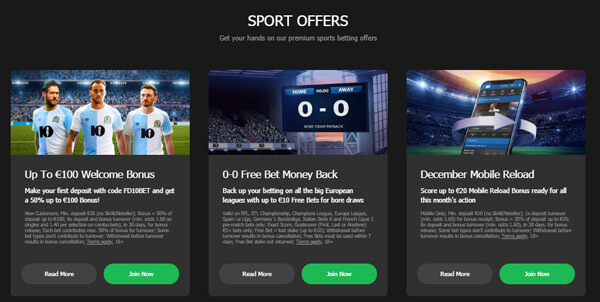 10bet sport offers overview