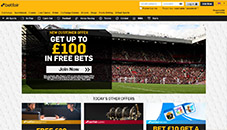 betfair home page