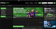 betway welcome page