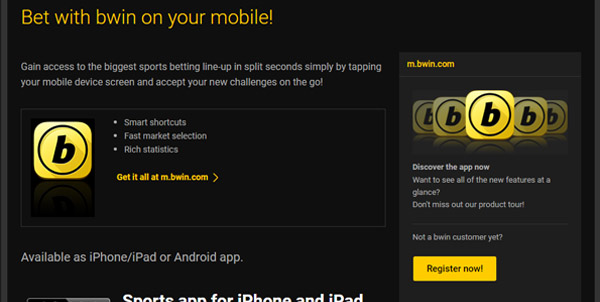 bwin on your mobile