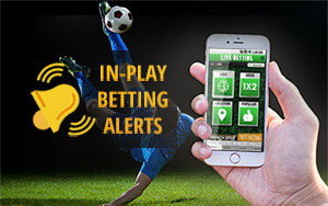 in play betting alerts