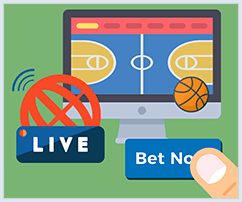 live streaming betting sites